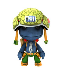 2000AD Costumes - Rogue Trooper (mediamolecule) Tags: sony 2000ad judgedredd mediamolecule littlebigplanet sackboy