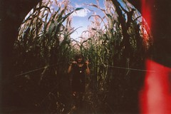 (Anna Hollow) Tags: film girl sister fisheye lexi cornmaze pumkinpatch annahatzakis annahollow