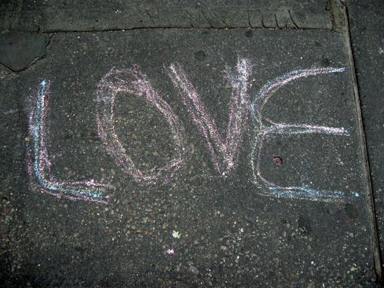 Sidewalk Love (Click to enlarge)