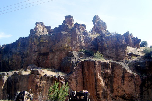 Basalt Formations on the Rez