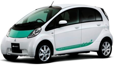 Mitsubishi i-MiEV - Erstes serienmäßiges Elektroauto