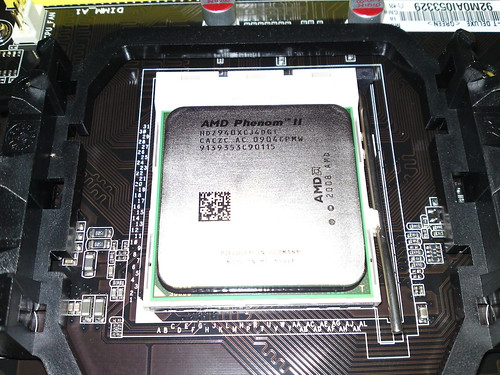 AMD CPU fitted