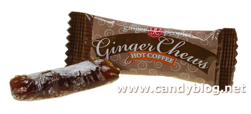 Hot Coffee Ginger Chews