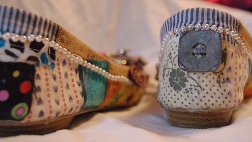 homemade shoes, shoes, craft