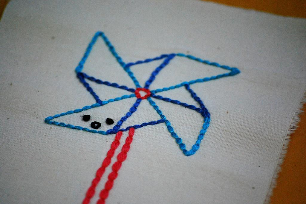 Long-Winded Pinwheel