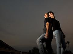 Magical Couple (Andrew Azis) Tags: sunset indonesia cards dusk magic malang tika adit strobist dondong
