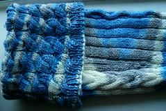 Rhiannon Sock 1 (Cuff)