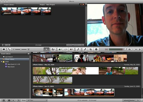 iMovie - vertical & Horizontal