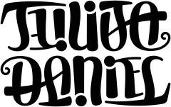 """""""Julija"""" & """"Daniel"""" Ambigram"""