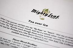 Mighty Leaf Iced Tea