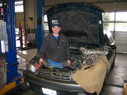 Ken & His Subaru