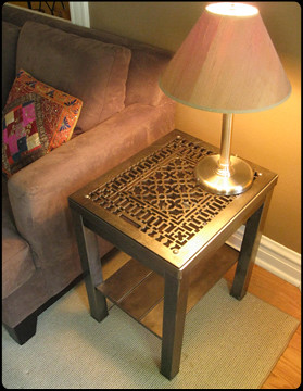Chunky Square End Table