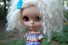 Awww I love her! (Lawdeda ♡) Tags: white sunday cutie best mohair blythe custom sb bl