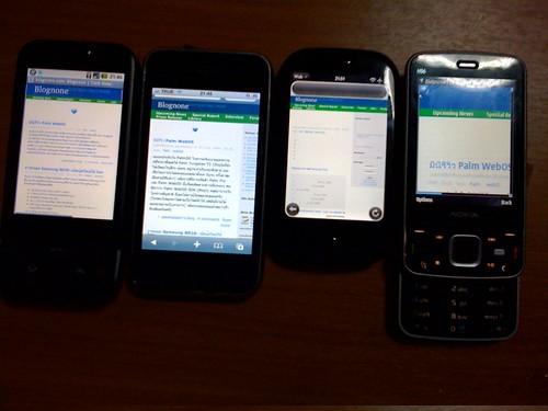 G1 - iPhone - Pre - Nokia