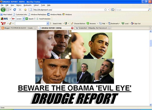 drudge has lost his damn mind