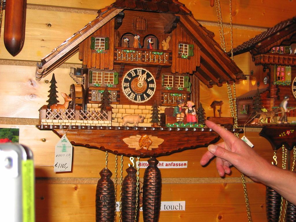 Europe Trip: Cuckoo Clock Factory