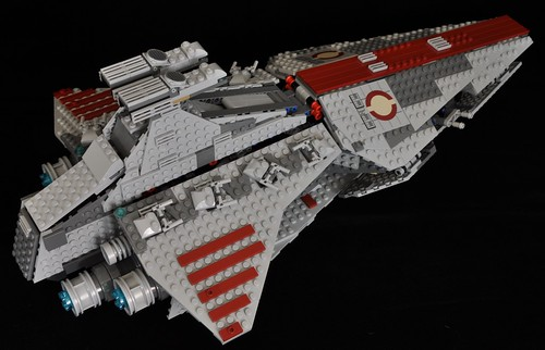Star Wars Lego 8039 Venator-Class Republic Attack Cruiser · Dragonfly
