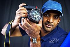 Fantasy Lens (Talal Al-Duolye) Tags: blue portrait man work studio nikon sony shops kuwait a200 d3  talal kws q8 ibraheem kwt   manportrait a   nikond3 alfarhan grouptripod  kuwaitworkshops ibraheemalfarhan kwsstudio