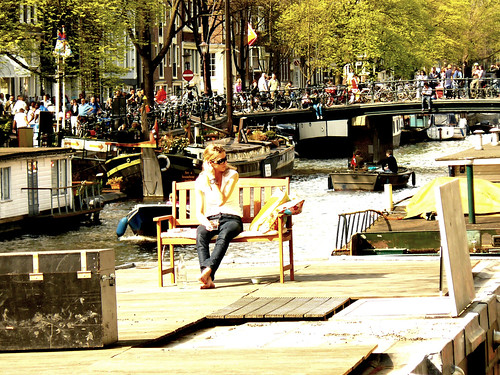 Spring in Amsterdam  :)