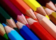 Give us a Hand ...and we'll give you a rainbow (k_rreen) Tags: colors pencils crayons colorphotoaward quotidiae mcobj