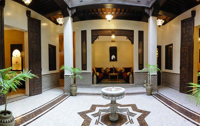 O que é uma Riad, Visita Virtual e História 5