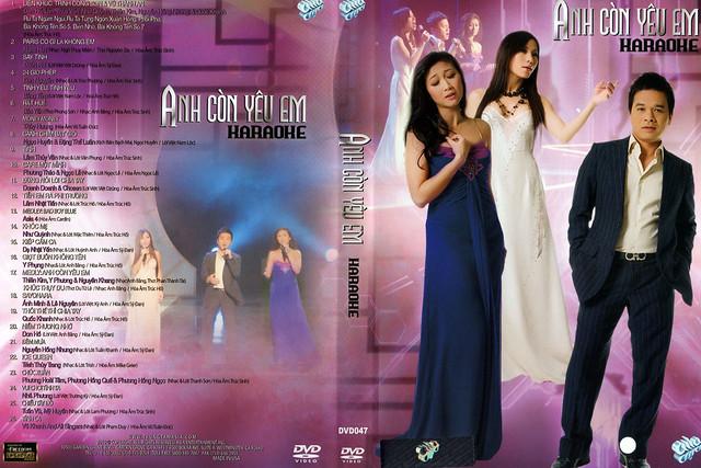 """ASIA 47 Karaoke """" Anh Còn Yêu Em """" DVD9"""