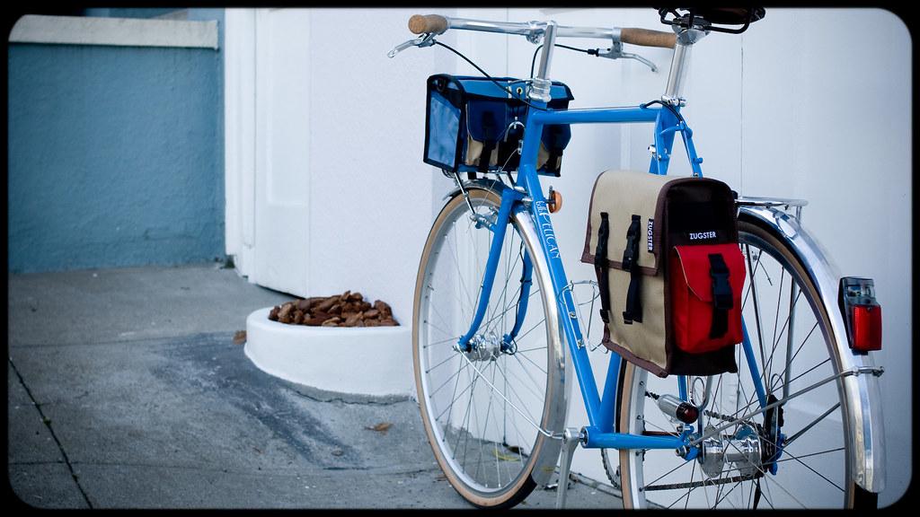 Pannier Prototype and Small Handlebar Bag