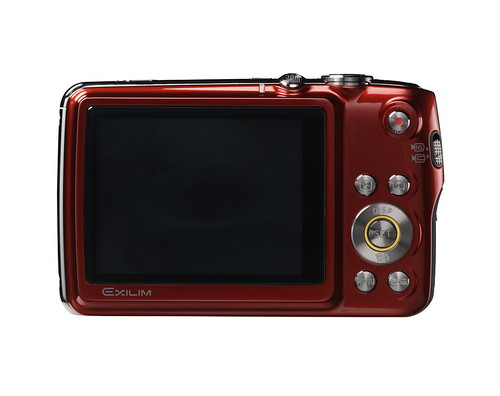 Casio Exilim EX-FS10 red digital camera