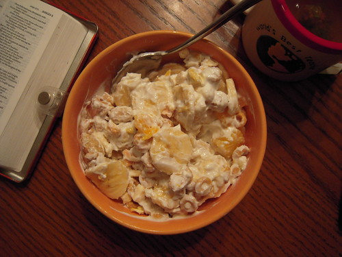 Banana cereal yogurt