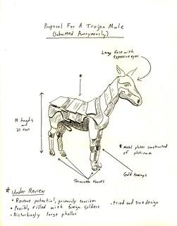 Proposal for a Trojan Mule