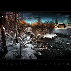 Scene from the bank (Trausti lafsson) Tags: fab snow nature iceland frost hdr hsavk nikond80 imageplus aplusphoto citrit reflectyourworld traustilafsson thetruthgallery lightiq