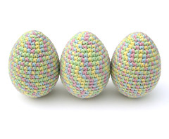 Pastel Eggs (Pastel Eieren) (Made by BeaG) Tags: original easter creativity design colorful artist belgium designer handmade unique oneofakind ooak pastel kunst egg belgi yarn creation cotton eggs variegated colourful unica unicum easteregg easterdecoration innovative beag easterproject decorativeegg cottonyarn innovatief easterdecorations easterfun easterdecor kunstenares uniquedesign ontwerpster crochetedegg originaldesigner creativedesigner eastercrafting colorfuleastereggs crochetegg colourfuleastereggs easterhomedecor colourfuleaster colorfuleaster designedandmadebybeag uniekontwerp ontworpenengemaaktdoorbeag