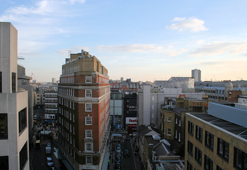 Looking South towards Oxford Street