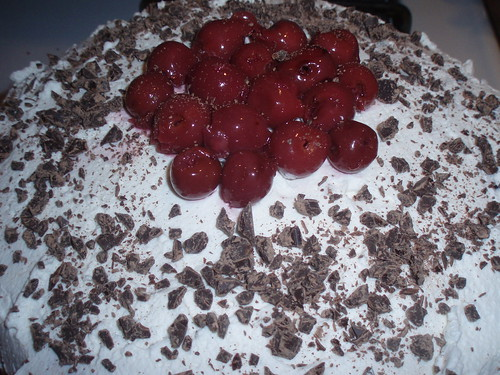 Day 59: Black Forest Birthday Cake