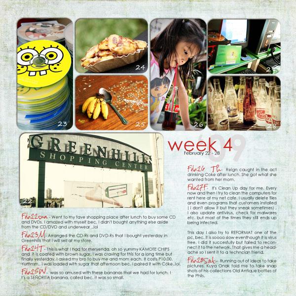 FEBRUARY: Week 4