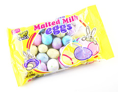 Necco Malted Milk Eggs Package