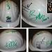 U2 Autographed Hard Hat