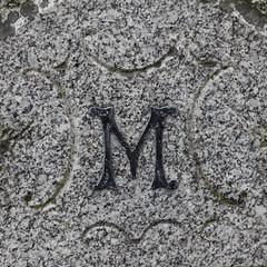 letter M (Leo Reynolds) Tags: canon eos iso400 m mmm letter f80 oneletter 135mm cemeteryletter 0004sec 40d hpexif grouponeletter xsquarex xratio11x groupcemeteryletters xleol30x