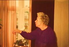 Nana & her budgie (sandman1965) Tags: budgie nana ipswich verasadler