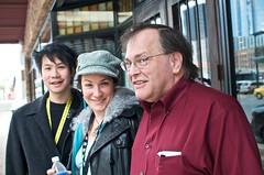 Eugene, Silona, Barry