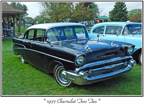 1957 Chevrolet Bel Air Filler Panel Front Lower