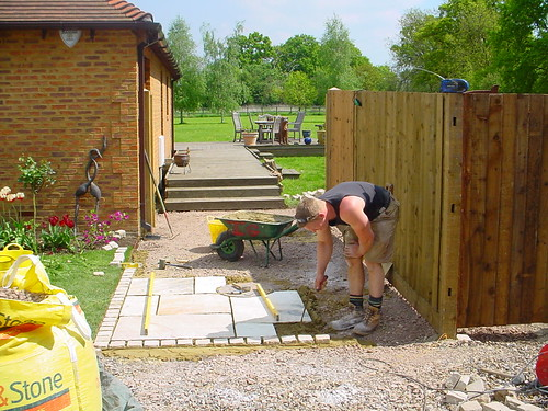Indian Sandstone Driveway  Image 10