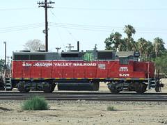SJVR 3829, Bakersfield CA (AA654) Tags: railroad bakersfield emd sjvr