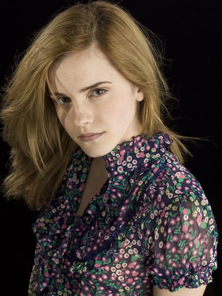 Emma Watson vestido 2009