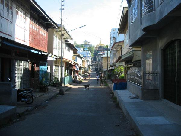 На улицах Kaw Thaung