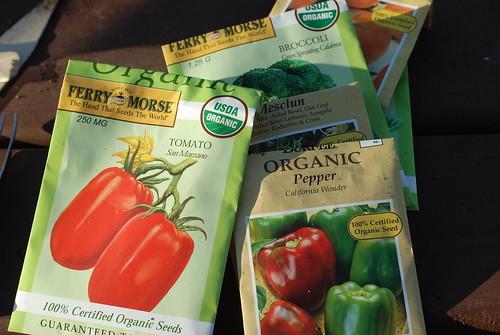 Organic gardening by you.