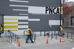 New bike parking at PNCA-7