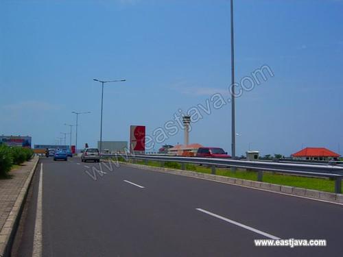 The Road to New Juanda Airport - Surabaya - East Java