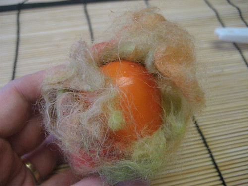 The problem with hand felting