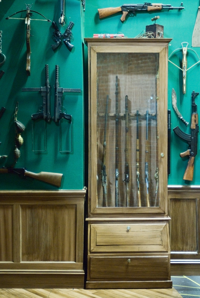 Gun Cabinet for Why Torture is Wrong...